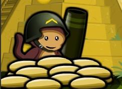 气球塔防4增强无敌版(小猴子守城4增强无敌版)