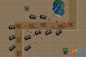 沙漠基地防御无敌版