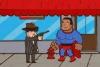 黑超人打坏蛋