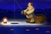 北极熊钓鱼简易版
