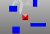 躲避蓝色方块