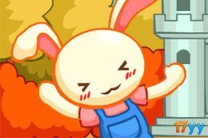 小兔子躲刺球无敌版