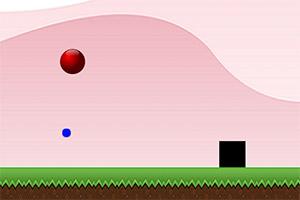 跳动的红圆球无敌版