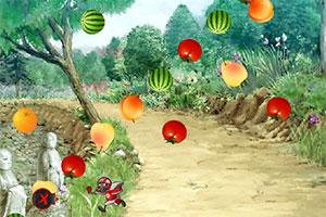 僵尸吃水果