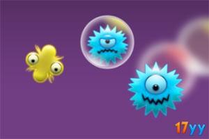 泡沫灭细菌