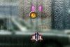 透明玻璃上的战斗机无敌版
