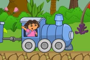 朵拉开火车