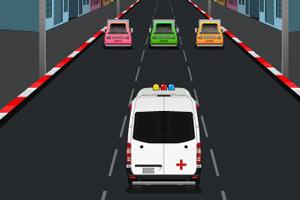 救护车飞奔