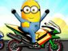 小黄人骑摩托