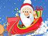 圣诞老人礼物雪