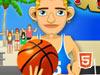 海滩街头篮球