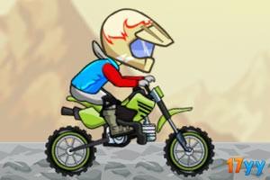 摩托骑手越野赛