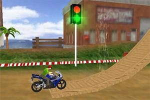 越野摩托赛车手