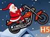 圣诞老公公骑摩托