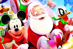 米奇和圣诞老人找数字