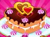 巧制情人节蛋糕