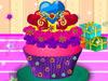 装饰芭比生日蛋糕