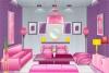 粉色佳人房间