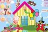 布置糖果小屋