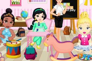 小公主布置幼儿园房间