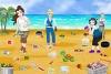 公主海滩清洁