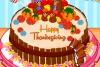 感恩节南瓜蛋糕