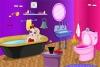 苹果女孩装饰浴室