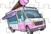 冰淇淋卡车拼图