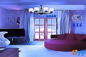 逃出精装蓝色房间