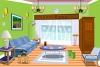翠绿色的房间逃脱