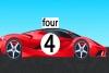 4号跑车拼图