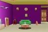 现代紫色房子逃出