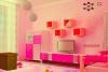 逃离粉红色调房间