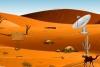乘直升机逃离沙漠