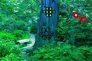 巨型蚂蚁森林逃跑