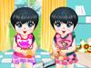 可爱双胞胎换装