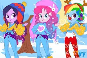 小马女孩时尚冬装