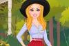 芭比的秋季百褶裙