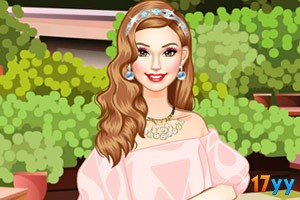皇家公主的装扮