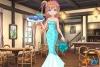 鱼尾裙美少女的马卡龙