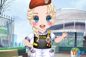 可爱小小警察